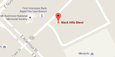 Black Hills Blend Menard's Location